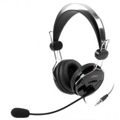 Casti nJoy Buff headset cu microfon, negre - Casti PC