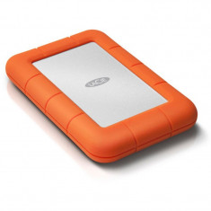 Hard disk extern LaCie Rugged Mini 2.5'' 500GB USB3 7200RPM, rezistent soc si umiditate - HDD extern