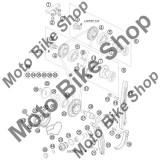 MBS Semering 12X30X7 pompa apa KTM 250 EXC-F CHAMPION EDIT. 2010 #38, Cod Produs: 760123073KT