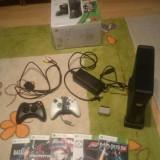 Xbox 360 Microsoft + 5 jocuri