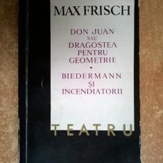 Max Frisch - Teatru - Carte Teatru