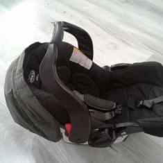 Scoica graco cu cadru de prindere pe caruciorul graco - Scaun auto bebelusi grupa 0+ (0-13 kg)
