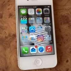 iPhone 4 Apple 16gb White necodat, Alb, Neblocat