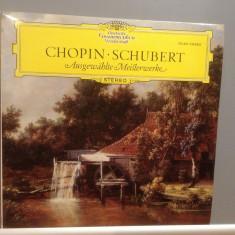 CHOPIN/SCHUBERT - MASTER WORKS (1965/Deutsche Grammophon/Germany) - VINIL/ca Nou - Muzica Clasica universal records