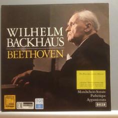 BEETHOVEN - SONATE cu Wilhelm Backhaus(1962/Decca rec/Germany) - VINIL/ca Nou - Muzica Clasica decca classics