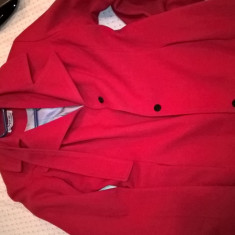 Palton DEPOT 96 - Palton dama, Marime: 36, Culoare: Rosu