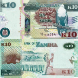 ZAMBIA 10 kwacha 2015 UNC!!!