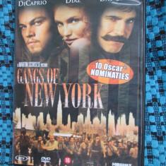GANGS OF NEW YORK (1 DVD ORIGINAL cu LEONARDO DICAPRIO si CAMERON DIAZ) - Film drama, Engleza