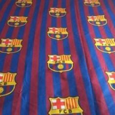 Pilota FC Barcelona - Lenjerie pat copii Altele, Alte dimensiuni, Albastru