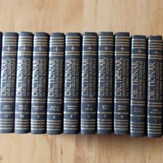 Dictionar Altele UNIVERSAL ILUSTRAT AL LIMBII ROMANE- 12 VOLUME, editie completa