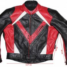 Costum moto piele Probiker, barbati, marimea 52(L) - Imbracaminte moto
