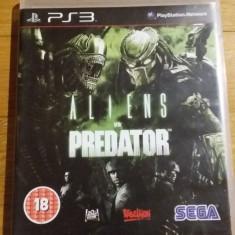 PS3 Aliens vs. Predator - joc original by WADDER - Jocuri PS3 Sega, Shooting, 18+, Single player