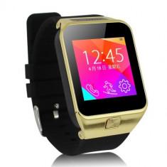 Ceas Smartwatch cu Telefon ZGPAX S29, camera, bluetooth, Auriu