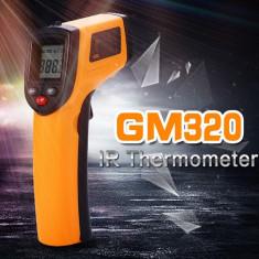 Termometru IR Infrarosu Digital Non-Contact pistol laser -50 /+380 grade BATERII