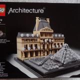 LEGO Architecture 21024 Louvre - Muzeul Luvru Paris Franta nou sigilat ORIGINAL