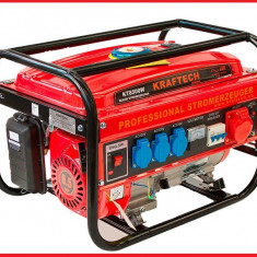 Generator Curent Electric-KRAFTECH-12V/220/380V-3kW, Generatoare uz general