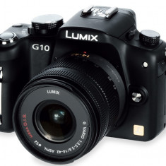 Mirrorless DSLR Panasonic Lumix DMC G-10K - KIT - Aparat Foto Mirrorless Panasonic, Kit (cu obiectiv), 12 Mpx