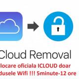 Deblocare ICLOUD iPad 1 2 3 4 pro mini air- WIFI, iWatch, IPod 5minute-12 ore - Decodare telefon, Garantie