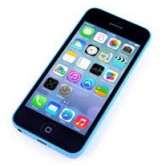 Telefon iPhone 5C Apple albastru, liber de retea, garantie 3 luni, 16GB, Neblocat