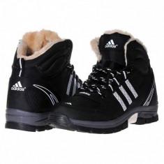 Ghete Adidas Outdoor - Ghete barbati Adidas, Marime: 40, 41, 42, 43, 44, Culoare: Negru, Piele sintetica