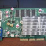Placa video AGP Nvidia FX5500 256 128 biti - Placa video PC, 256 MB