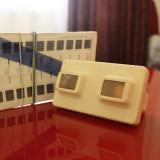 Aparat diapozitive 3D Plus un set de Diapozitive