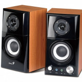 BOXE 2.0 GENIUS SP-HF500A, RMS: 7Wx2, black&amp cherry wood, jack casti, line in 31730905100 , BOXSP-HF500A (include timbru verde 1 leu)