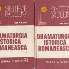 Ion Nistor - Dramaturgia istorica romaneasca - 624735 - Carte Cinematografie