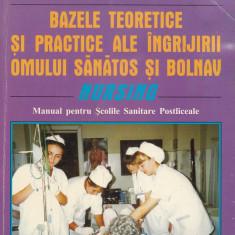 Letitia Morariu - Bazele teoretice si practice ale ingrijirii omului sanatos si bolnav (Nursing) - 578602 - Carte Medicina alternativa