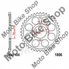 MBS Pinion spate 428 Z56, JTR1806.56, Cod Produs: 7276520MA - Pinioane transmisie Moto
