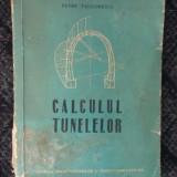 CALCULUL TUNELELOR - PETRE TEODORESCU, - Carti Constructii