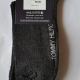 Sosete - Ciorapi Tommy Hilfiger - Made In Italy 100% Bumbac Marimea 41-46 GRI - Sosete barbati, Culoare: Din imagine