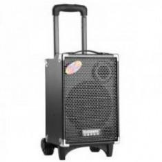 SISTEM KARAOKE BOXA ACTIVA, MP3 PLAYER USB, EFECTE, MICROFON WIRELESS, SUNET HI FI. - Echipament karaoke