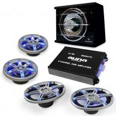 4.1 Set auto-HiFi beat pilot FX-413 - Antifonare auto