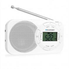 Radio portabil Blaupunkt BD320 FM digital, alb - Aparat radio