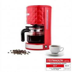 Klarstein Granada Rossa Filtru de Cafea 1, 25 litri 1000W roșu - Cafetiera