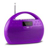 Trevi KB 308 BT Radio Digital Boombox Bluetooth violet microSD USB - Combina audio