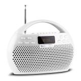 Trevi KB 308 BT Radio Digital Boombox Bluetooth alb microSD USB - Combina audio