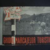 GHIDUL MARCAJELOR TURISTICE 1958 - Carte Geografie