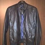 Geaca Zara Classic-Moto piele artificaiala marime S-produs-second hand - Geaca barbati Zara, Marime: S, Culoare: Negru