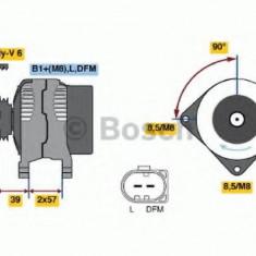 Generator / Alternator VW POLO 1.6 BiFuel - BOSCH 0 986 045 320 - Alternator auto