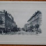 Bucuresti, Centrul, necirculata, inceput de secol 20 - Carte Postala Muntenia 1904-1918, Printata