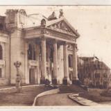 Bnk cp Iasi - Teatrul de stat - uzata - Carte Postala Moldova dupa 1918, Necirculata, Printata