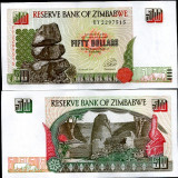 !!! ZIMBABWE - 50 DOLARI 1994 - P 8 - UNC, Africa