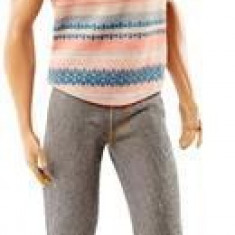 Papusa Barbie Ken Doll Fashionistas Grey Trouseres And Glasses