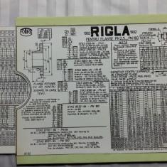 RIGLA DE CALCUL PENTRU FLANSE - FORMAT 20 X 15 CM - 2 PIESE, 1 MOBILA