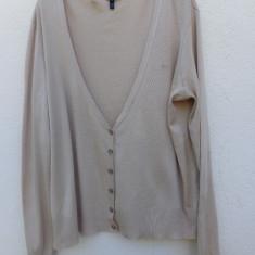 Cardigan -jerseu bej Escada Sport original - Pulover dama Escada, Marime: L/XL
