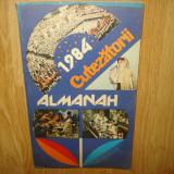 ALMANAH CUTEZATORII ANUL 1984
