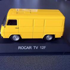 Macheta ROCAR TV 12F - Colectia MASINI DE LEGENDA - De Agostini - Macheta auto, 1:43