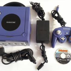 Joc TV Nintendo Game Cube cu Mario Kart si accesorii complete originale - Consola Nintendo